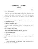 Giáo án ngữ văn lớp 12: Thuốc - Lỗ Tấn