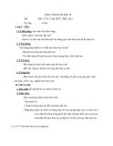 Giáo án chương 4 toán 10: Dấu của tam thức bậc hai