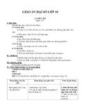 Đại số lớp 10 chương 5 bài 2: Biểu đồ