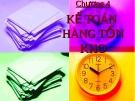 Bài giảng môn kế toán doanh nghiệp - Chương 4