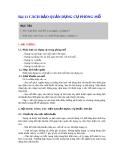 Bài 1a: Cách bảo quản dụng cụ phòng mổ