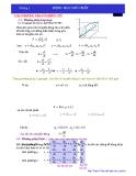 Giáo trình thủy lực - Trường Đại Học Kiến Trúc Tp.HCM - Chương 3
