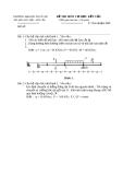 Đề thi môn cơ học kết cấu 1 - Trường đại học Thủy Lợi - Đề số 29