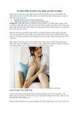 10 biểu hiện ở chân cho thấy cơ thể có bệnh