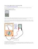 Cách sử dụng VOM và kiểm tra tụ điện bằng VOM