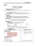 Tiếng Anh 6 - Giáo án bài 2: At school - GV.Tr.Thúy Trang