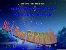 Bài giảng Giải tích 12 chương 4 bài 4: Phương trình bậc hai với hệ số thực