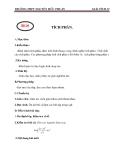 Giáo án Giải tích 12 chương 3 bài 2: Tích phân