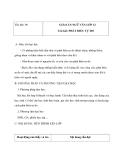 Giáo án Ngữ văn 12 tuần 30 bài: Phát biểu tự do
