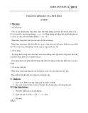 Giáo án bài Ứng dụng tích phân trong hình học - Toán 12 - GV.Lý Thanh