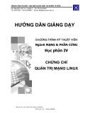 Chứng chỉ mạng Linux