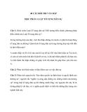 40 Câu hỏi thi vấn đáp học phần: luật tố tụng dân sự