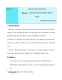 Giáo án ngữ văn lớp 12 tuần 17: Ai đã đặt tên cho dòng sông