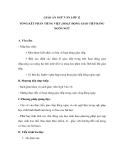 Giáo án Ngữ văn 12 tuần 32 bài: Tổng kết phần tiếng việt - Hoạt động giao tiếp bằng ngôn ngữ