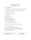 Ngữ văn lớp 12: Ôn tập phần tập làm văn