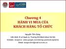 Quản trị marketing (Nguyễn Tiến Dũng) - Chương 4
