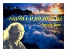 Bài giảng Ngữ văn 12 tuần 16 bài: Người lái đò sông Đà - Nguyễn Tuân