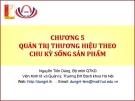 Bài giảng quản trị thương hiệu - chương 5