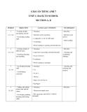 Giáo án unit 1: Back to school - Tiếng Anh 7 - GV.Đặng Quỳnh Châu