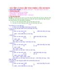 Bài tập lai hai cặp tính trạng của Menden