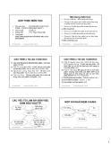 Bài giảng vệ sinh an toàn tực phẩm: Chương 1 và Chương5  - ThS. Phạm Hồng Hiếu