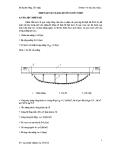 Thiết kế cầu máng bê tông cốt thép
