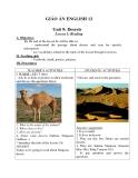 Giáo án Tiếng Anh 12 bài 9: Deserts - GV.Bùi Diễm Châu