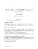 Lập trình ứng dụng trên Pocket PC - ADO.NET trên.NET Compact Framework - Nguyễn Tuấn Anh