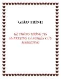 Giáo trình Hệ thống thông tin Marketing và nghiên cứu Marketing