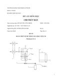 Đề tài: Thiết kế hệ thống dẫn động xích tải