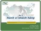 Marketing căn bản -  Đinh Tiên Minh ( bài 3)