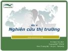Marketing căn bản -  Đinh Tiên Minh ( bài 4)