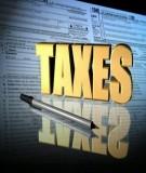 Đề thi môn luật thuế tham khảo