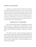 Ngành luật & Câu chuyện nghề luật
