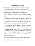 Học Kỹ năng đàm phán ký kết hợp đồng