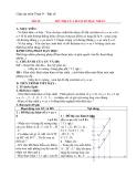 Giáo án Đại số 9 chương 2 bài 3: Đồ thị hàm số y=ax+b