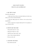 Giáo án điện tử tuần 21 - Ngữ văn lớp 11: Thao tác lập luận bác bỏ