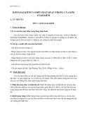 Giáo án Hóa 12 bài 25: Kim loại kiềm và hợp chất quan trọng của kim loại kiềm – GV.Ng Thùy Mai