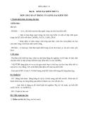 Giáo án Kim loại kiềm thổ và hợp chất quan trọng của kim loại kiềm thổ – Hóa 12 bài 26 – GV.Ng Văn Phương
