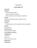 Giáo án bài 22: Sóng điện từ - Vật lý 12 - GV.Đ.V.Nhật