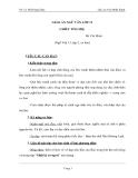 Giáo án ngữ văn lớp 11 tuần 23: Chiều tối - Hồ Chí Minh