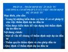 Bài giảng Quản trị dự án đầu tư: Chương 6 - GV: Huỳnh Nhựt Nghĩa