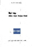 Ebook bài tập Hóa học phân tích - Nguyễn Tinh Dung