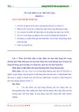 Ôn tập môn Luật thương mại Modul 2