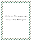 Giáo trình kinh tế học công cộng (Joseph E. Stiglitz)  Chương 16 Thuế: Phần nhập môn