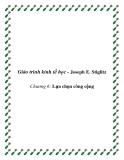 Giáo trình kinh tế học công cộng (Joseph E. Stiglitz)  Chương 6: Lựa chọn công cộng