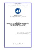 Chiến lược thâm nhập thị trường Hoa Kỳ xoài tháp tỉnh Đồng Tháp sang thị trường Hoa Kỳ năm 2014