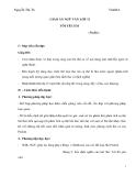 Giáo án Ngữ văn 11 tuần 26 bài: Tôi yêu em - Puskin