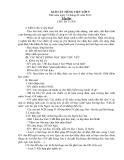 Tập đọc Chú đi tuần – Tuần 23 – Giáo án tiếng việt lớp 5