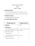 Chính tả: Nhớ viết Cao Bằng - Giáo án tiếng việt lớp 5 - Tuần 23